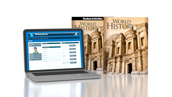 World History Online with Books