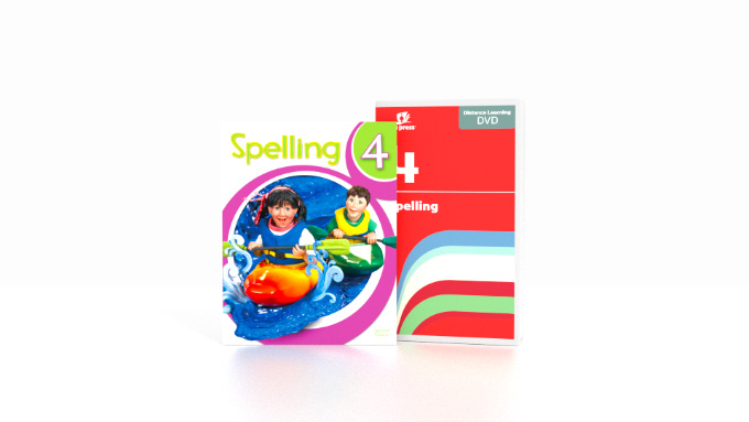 Spelling 4 DVD with Books (2nd ed.)