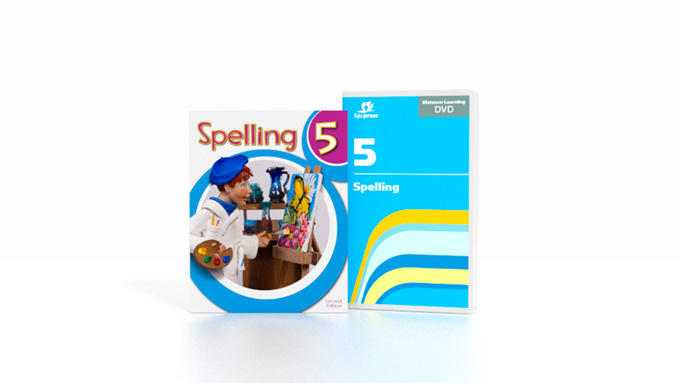 Spelling 5 DVD with Books (2nd ed.)