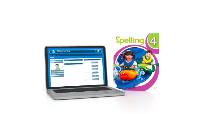 Spelling 4 Online with Books (2nd ed.)