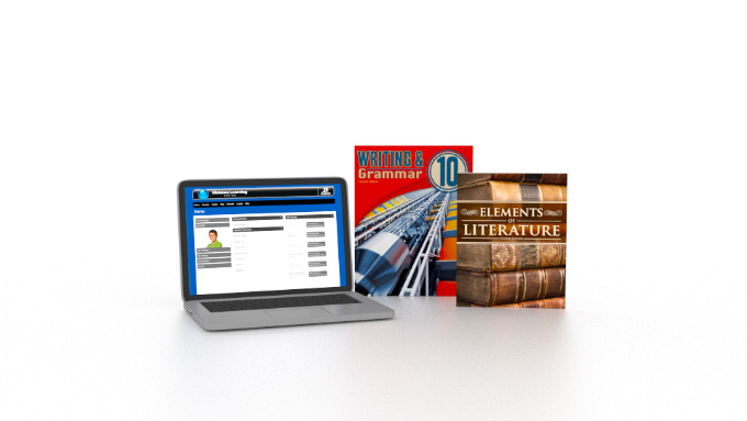 English 10 Online with Books