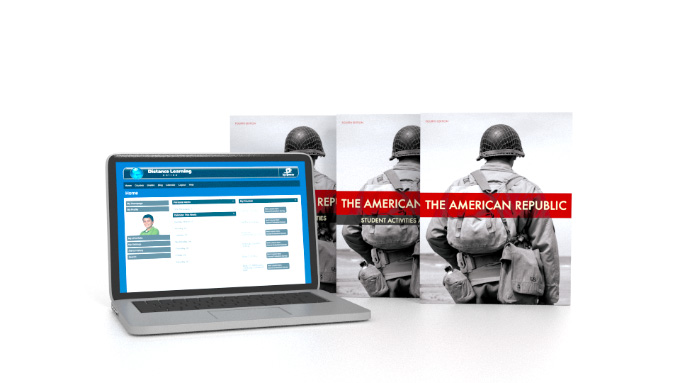 American Republic Online with Books (4th ed.)