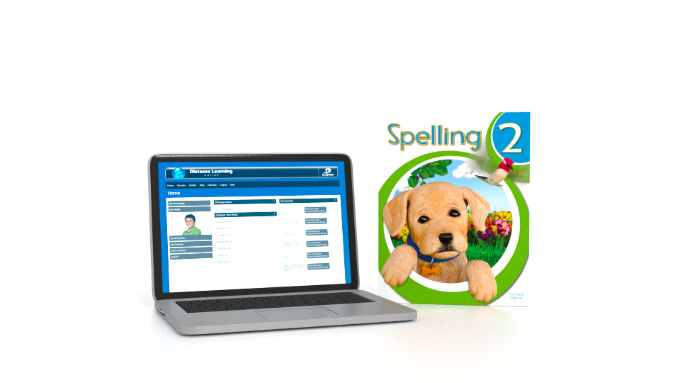 Spelling 2 Online with Books (2nd ed.)