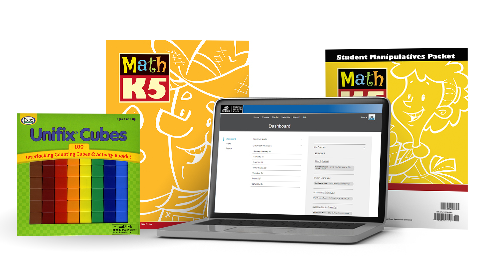 Math K5 Online with Books