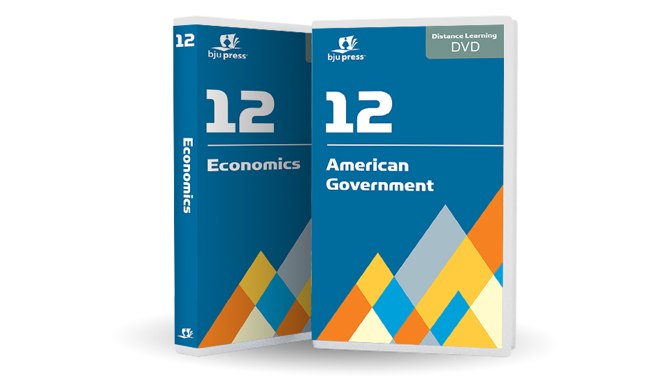 American Government & Economics DVD Only