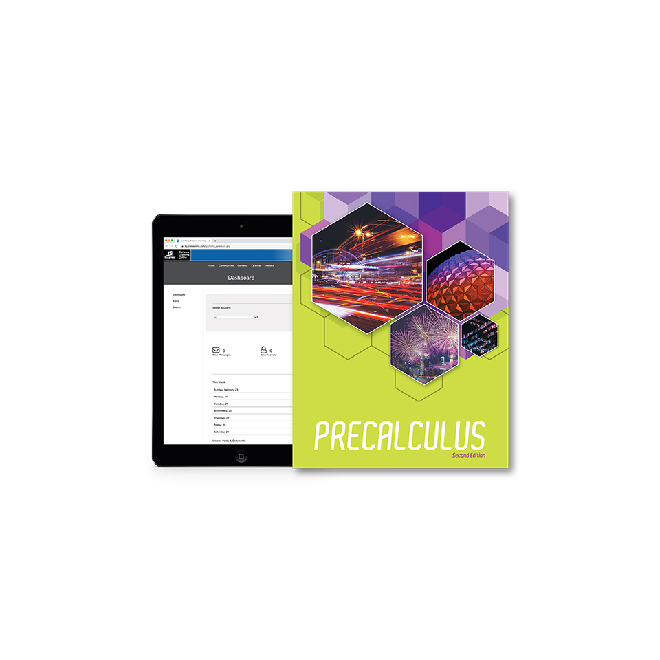 Precalculus Online with Books (2nd ed.)