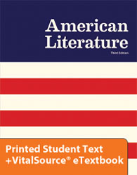 American Literature eTextbook & Printed ST (3rd ed.)