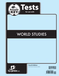World Studies Tests Answer Key (4th ed.)