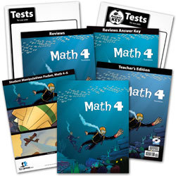 Math 4 Subject Kit (3rd ed.)