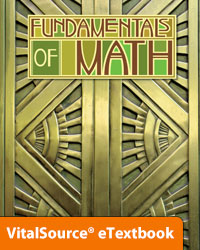 Fundamentals of Math eTextbook ST (2nd ed.; copyright update)