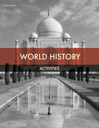 World History Student Activities (5th ed.)