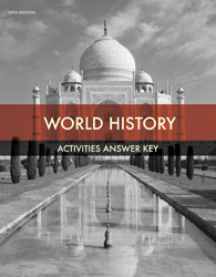 World History Student Activities Answer Key (5th ed.)