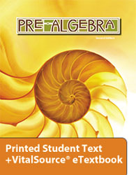 Pre-Algebra eTextbook & Printed Student Text (2nd ed.; copyright update)