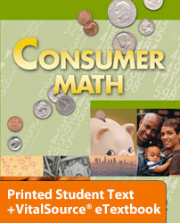 Consumer Math eTextbook & Printed ST (2nd ed.; copyright update)