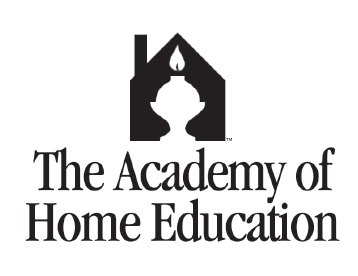 early logo for the Academy of Home Education