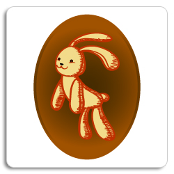 image of teddy bear rabbit