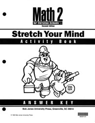 Math 2 Stretch Your Mind Activity Book Answer Key
