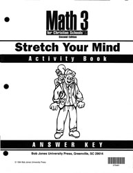 Math 3 Stretch Your Mind Activity Book Answer Key