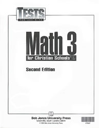 Math 3 Tests (5 pk) (2nd ed.)
