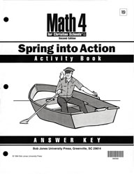 Math 4 Spring into Action Activity Book  Answer Key
