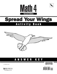 Math 4 Spread Your Wings Activity Book Answer Key