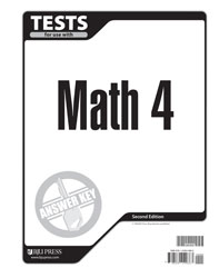 Math 4 Tests Answer Key (2nd ed.)