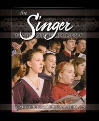 Perspectives in Music: The Singer Teacher Resource Materials