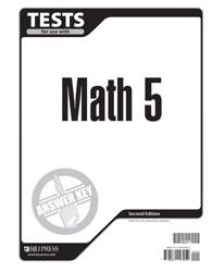 Math 5 Tests Answer Key (2nd ed.)