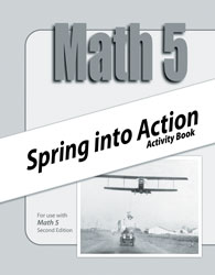 Math 5 Spring into Action Activity Book (2nd ed.)