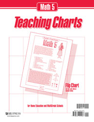 Math 5 Teaching Charts Flip Chart (for use with 2nd ed.)