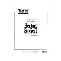 Heritage Studies 1 Tests (5 pk) (2nd ed.)