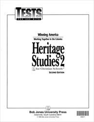 Heritage Studies 2 Tests (5 pk) (2nd ed.)