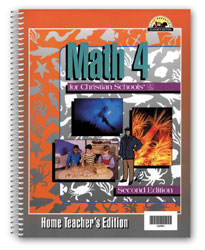 Math 4 Home Teacher's Edition (2nd ed.)