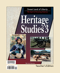 Heritage Studies 3 Teacher's Edition (2nd ed.)
