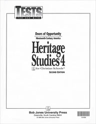 Heritage Studies 4 Tests (5 pk) (2nd ed.)