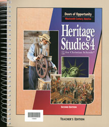Heritage Studies 4 Teacher's Edition (2nd ed.)