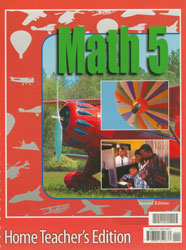 Math 5 Home Teacher's Edition (2nd ed.)