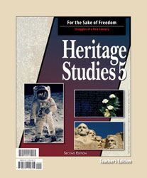 Heritage Studies 5 Teacher's Edition (2nd ed.)