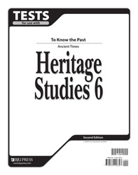 Heritage Studies 6 Tests (2nd ed.)