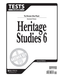 Heritage Studies 6 Tests Answer Key (2nd ed.)