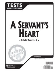 Bible Truths 2 Tests Answer Key (3rd ed.)