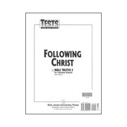 Bible Truths 3 Tests (5 pk) (3rd ed.)