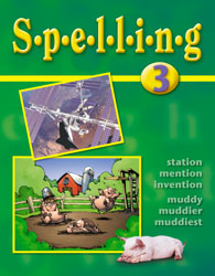 Spelling 3 Student Worktext (Updated Version)