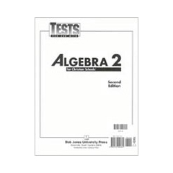 Algebra 2 Tests (5 pk) (2nd ed.)