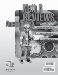 Math 6 Reviews Activity Book Answer Key (2nd ed.)
