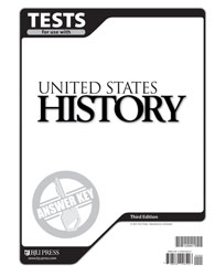 United States History Tests Answer Key (3rd ed.)
