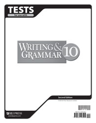 Writing/Grammar 10 Tests (tests only; for 1 student)