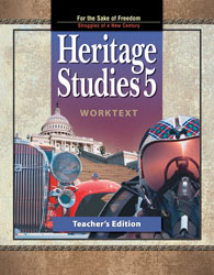 Heritage Studies 5 Worktext Teacher's Edition
