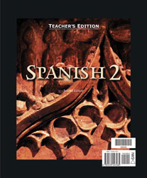 Spanish 2 Teacher's Edition (2nd. ed.)
