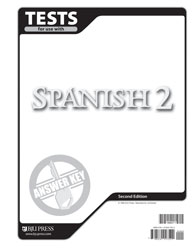 Spanish 2 Tests Answer Key (2nd ed.)